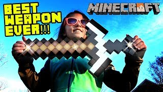 MINECRAFT TOYS w/ LEX & MIKE (FV Family Skit)