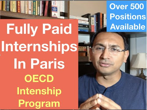 Fully Paid Internship in Paris: OECD Internship Program (Europe) : Aniket Singh