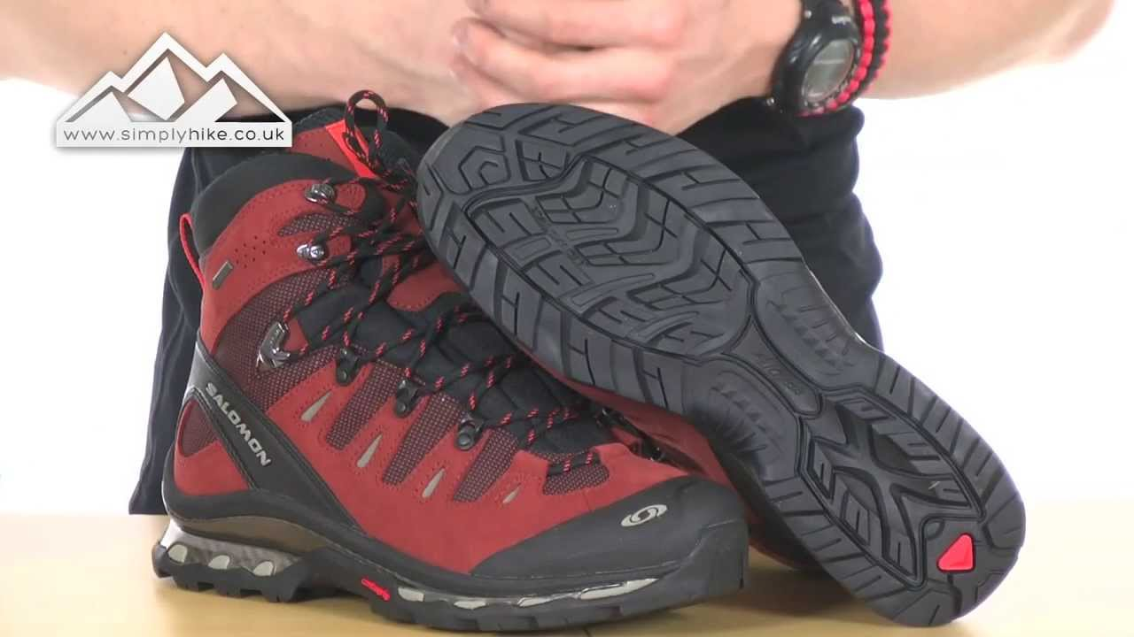 f8c209972098 Salomon Quest 4D GTX Mens Walking Boot - www.simplyhike.co.uk - YouTube