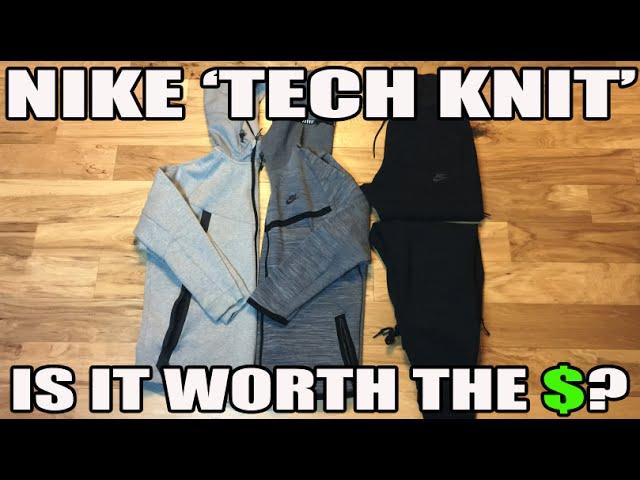 3520a8c76473 Nike  Tech Knit  Review  Is It worth The Money  (Tech Fleece Comparison) -  YouTube