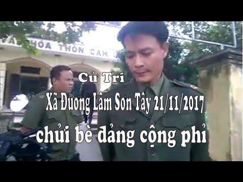 Bà Trịnh Thị Thuần  Xã Đường Lâm, Sơn Tây chửi bè đảng cộng phỉ như tát nước