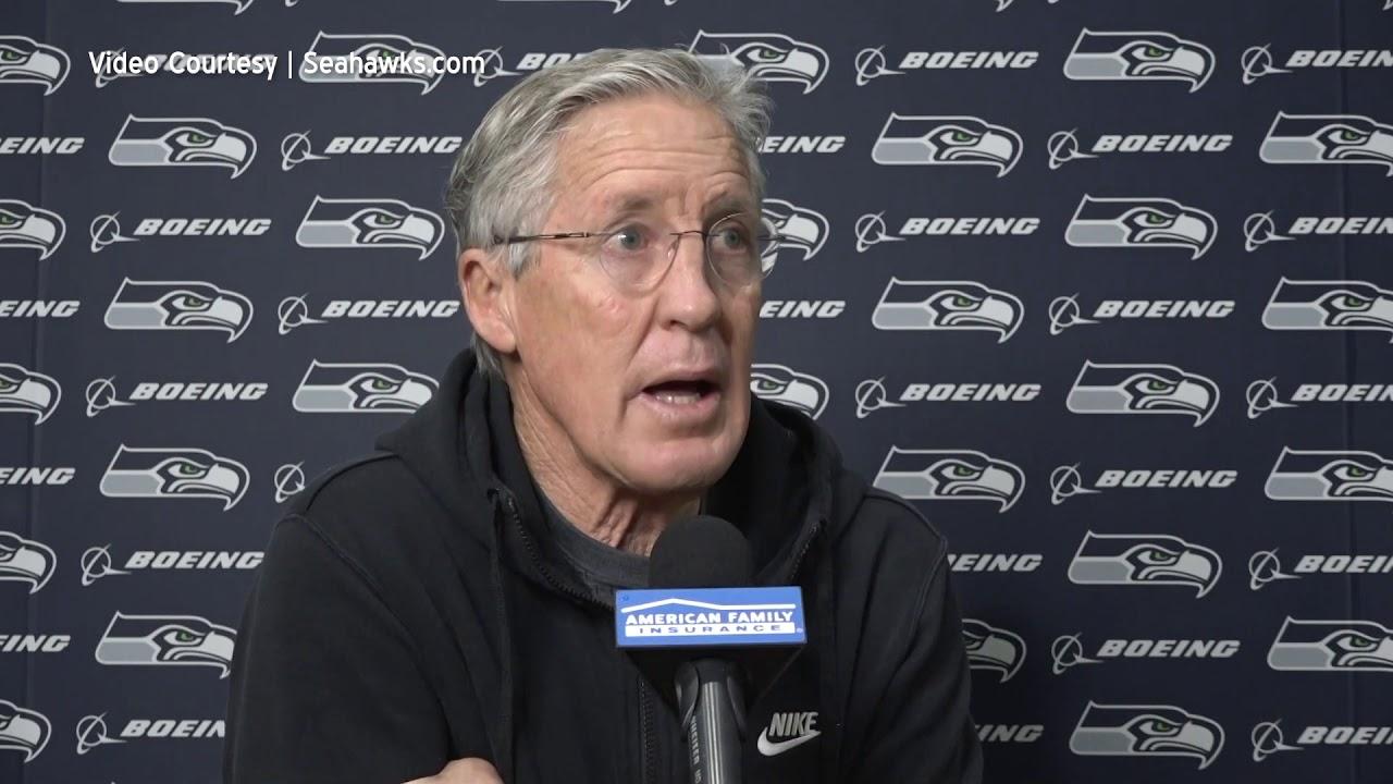 Pete Carroll on Coaching Staff 2021-01-13