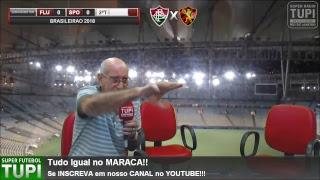 Fluminense 0 x 0 Sport - 33ª RODADA - Brasileirão - 11/11/2018 - AO VIVO