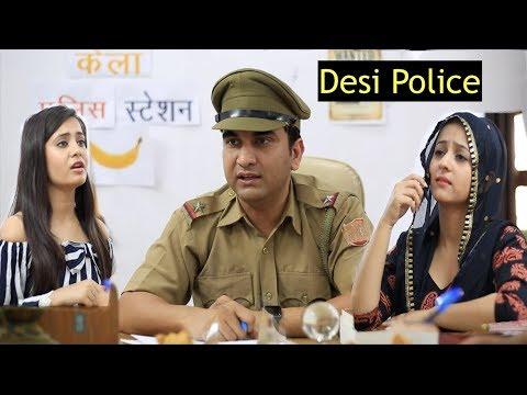 Desi Police Station ke Jhatke -   Lalit Shokeen Films  