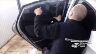 Тонировка Hyundai Solaris (Хендай Солярис)(Тонировка Хендай Солярис (Хундай Солярис) в мастерской