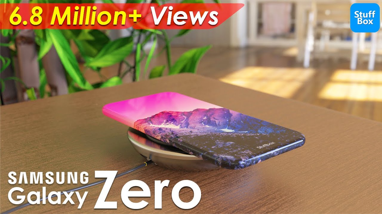 Samsung Galaxy Zero - World's 1st Phone with Zero Ports!