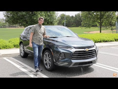 2019 Chevy Blazer Premier AWD Test Drive Video Review