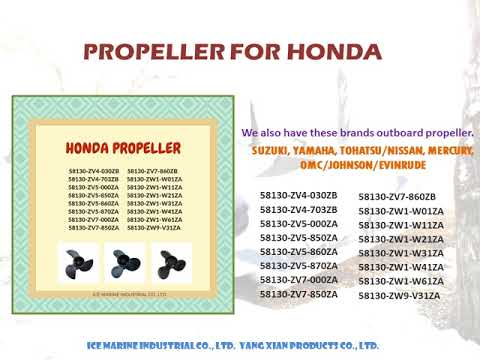 HONDA Outboard Propeller from ICE Marine