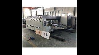 Flexo Printer Slotter Rotary Die Cutter Machine QHYKM150-1224;Corrugated carton Printing.