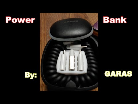 Mini Portable Power Bank! By GARAS