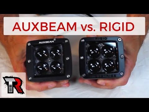 Auxbeam vs. Rigid Industries - LED Light Comparison