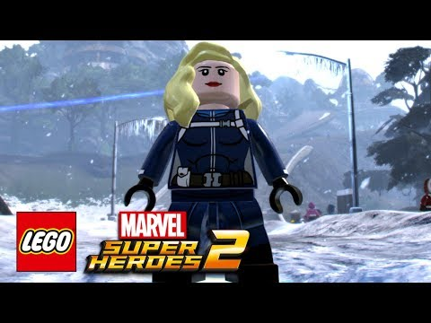 LEGO Marvel Super Heroes 2 - How To Make The Invisible Woman (Susan Storm)