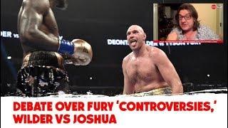 Debate over Fury 'controversies,' Wilder vs Joshua | Gareth A Davies on OTB AM