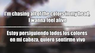 Marshmello x Ookay - Chasing Colors | Lyrics + Subtitulado al Español + Vídeo Ofical
