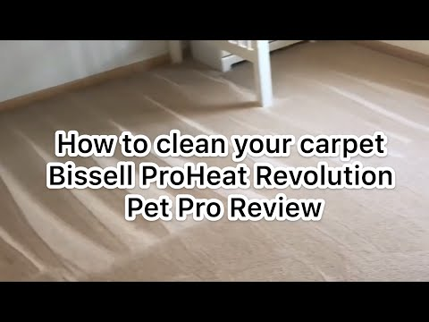 bissell-proheat-2x-revolution-pet-pro-|-unboxing-and-review