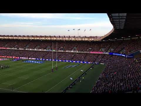 Scotland vs England - Calcutta Cup 2018 - National Anthems