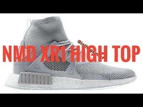 2be50e1c5520e Adidas NMD XR1 High Top LEAK - YouTube