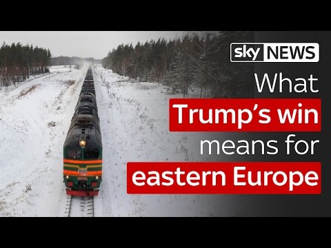 What Trump's election win means for eastern Europe