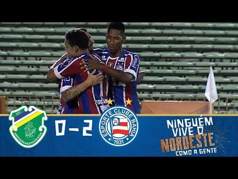 Melhores Momentos - Altos 0 x 2 Bahia - Copa do Nordeste (30/01/2018)
