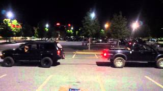 Tacoma Vs Dodge Durango V-8 Pull Off