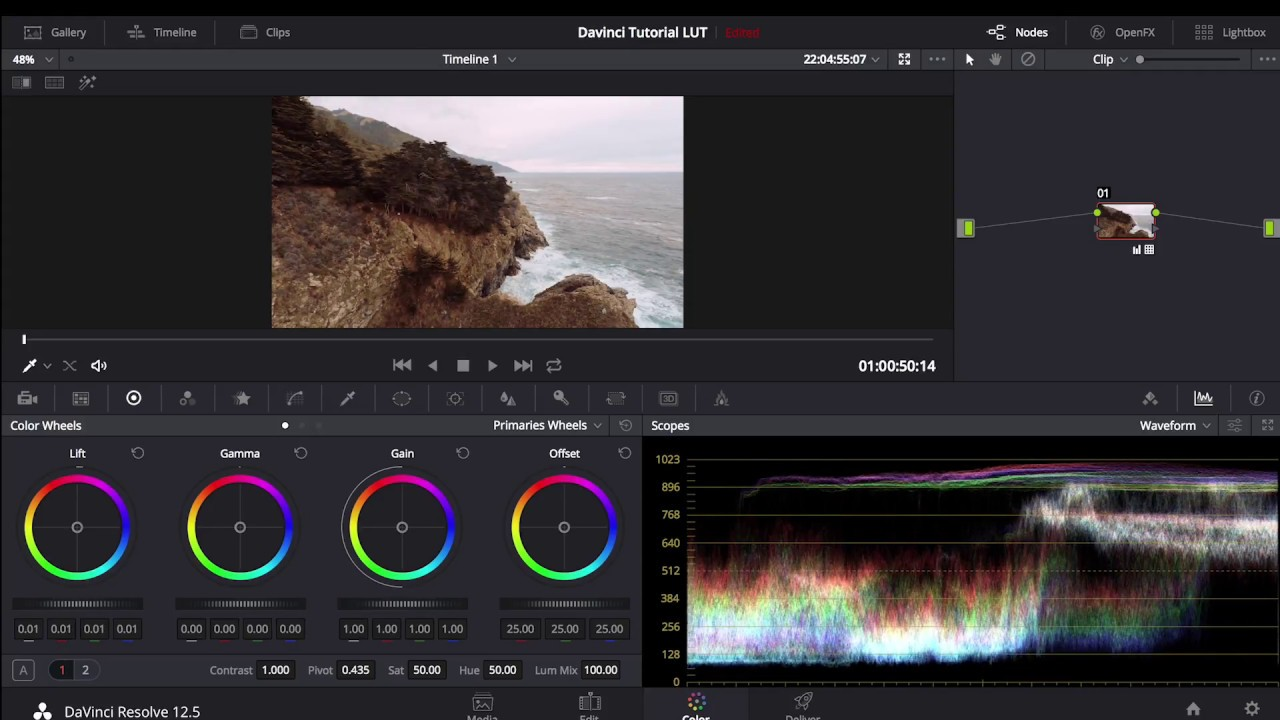 How to Install & Use LUTs in Davinci Resolve