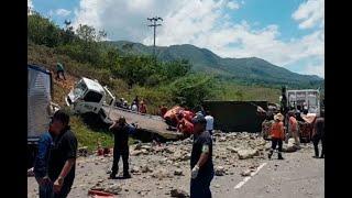 Nueve muertos deja doble accidente en vía Guaduas–Puerto Salgar | Noticias Caracol
