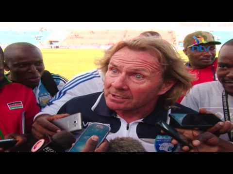 Coach Stewart Hall loses his cool over AFC Leopards' Mashemeji Derby performance