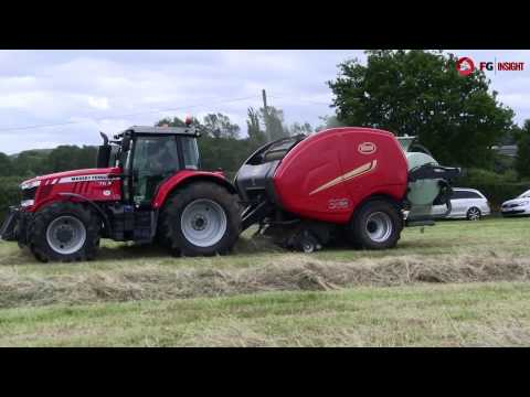 Vicon fastbale: non-stop round baling