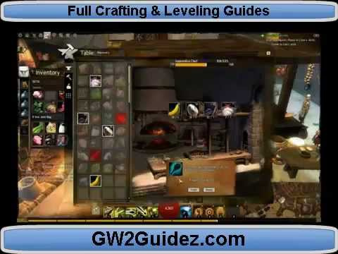 Guild Wars 2 Crafting Guide Gw2 Crafting Tutorial Youtube