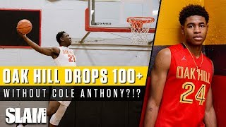 Oak Hill Put Up 103 Points Without Cole Anthony?!? 😱 | SLAM Highlights