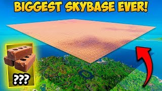 IS THIS SKY BASE EVEN COOL? - Fortnite Funny Fails and WTF Moments! #804