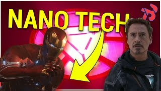 Iron Man's New Nano Tech Suit EXPLAINED (Avengers Infinity War)