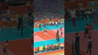 2016 Rio Olympic Women Volleyball China VS Brazil   Quarter- final