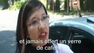 Russian Anna and US Customs Fairy Tale ( French captions)