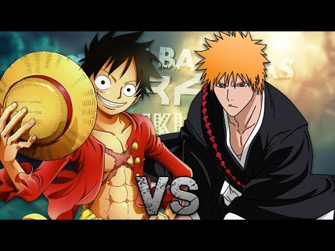 Luffy vs Ichigo. Épicas Batallas de Rap del Frikismo T2   Keyblade ft. Sharkness & Miree
