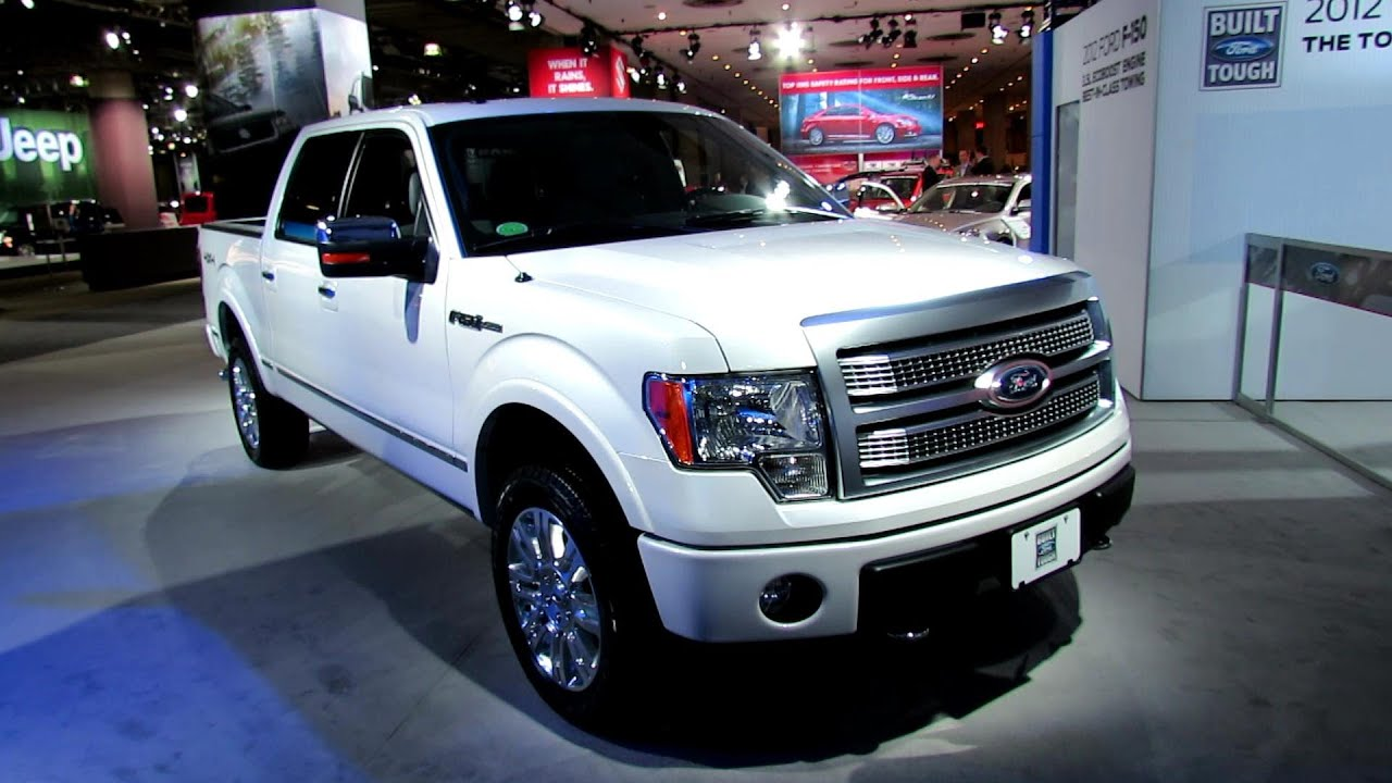 2012 Ford F 150 Platinum Exterior and Interior at 2012 New York