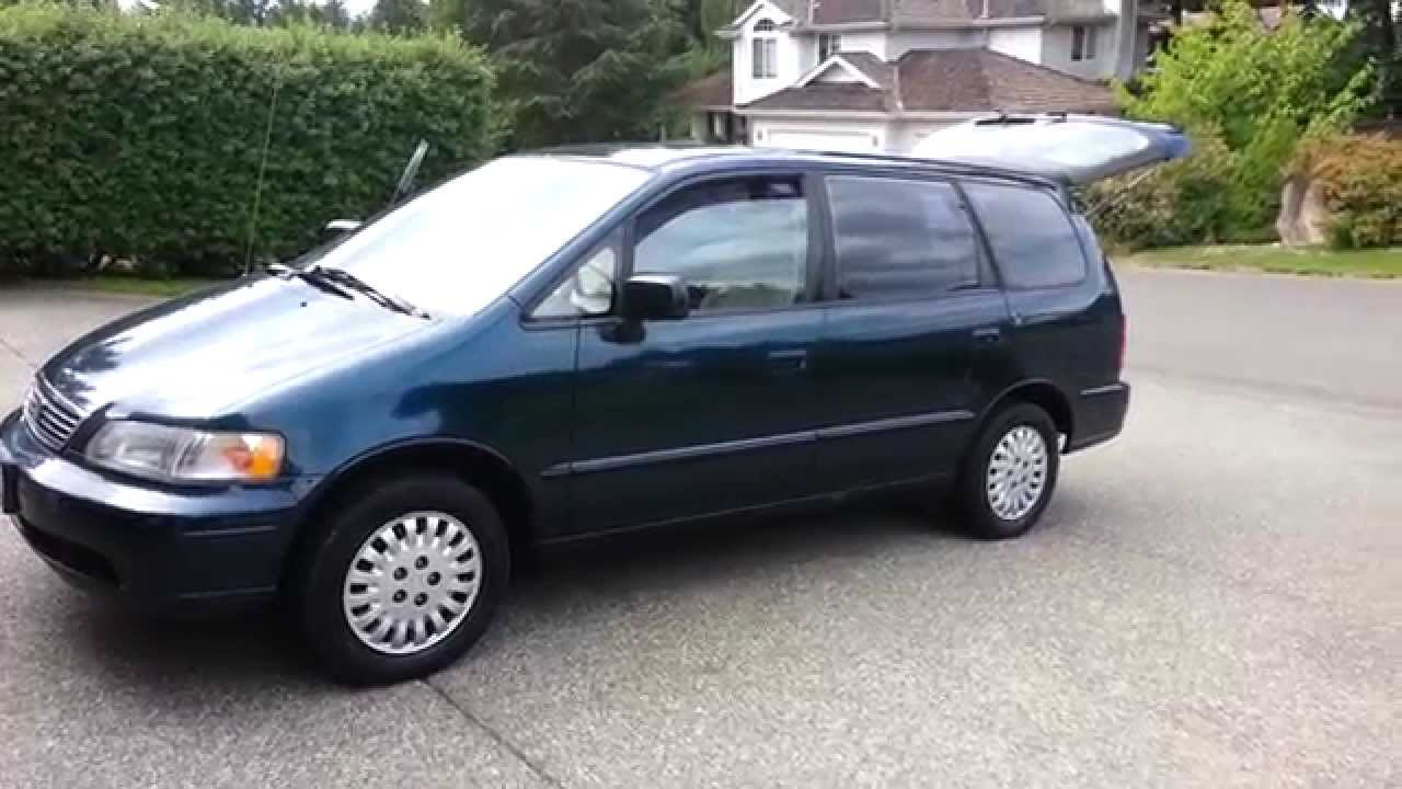 1995 honda odyssey ready to be tricked out youtube. Black Bedroom Furniture Sets. Home Design Ideas
