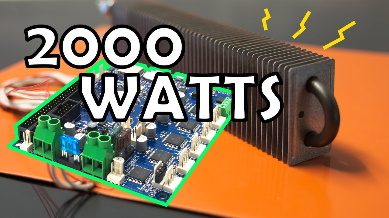Controlling an enclosure heater and silicon bed heater with a Duet board.