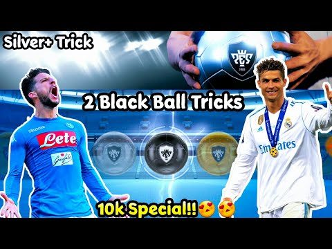 2 Best Black Ball Tricks in Silver Plus in #PES19MOBILE