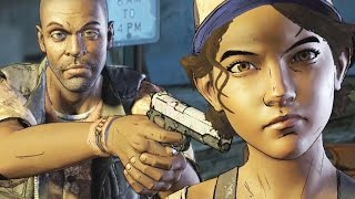 The Walking Dead Episode 2 - All Dialogues - Clementine as a Hostage (Season 3 A New Frontier)