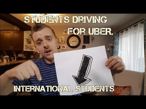 Students and International Students driving for UBER.