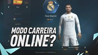 MODO CARREIRA ONLINE !!! - FIFA ONLINE 3 #01