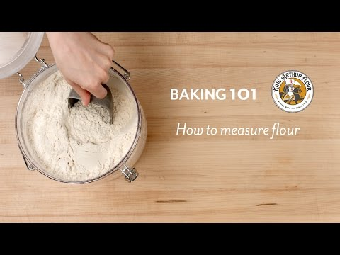 how-to-measure-flour