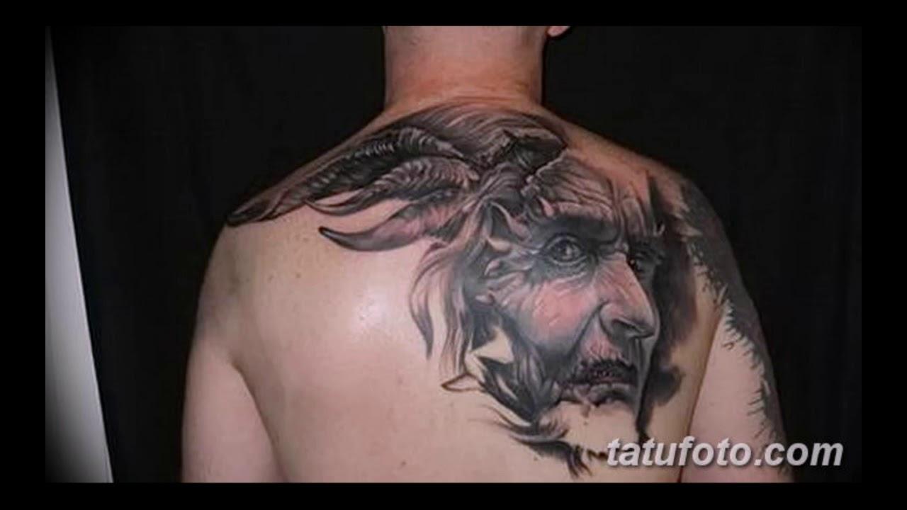 Значение тату Сатана - оригинальные рисунки готовых татуировок на фото