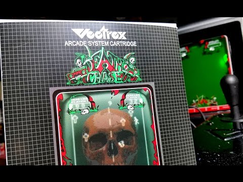 Classic Game Room - DEATH CHASE review for Vectrex
