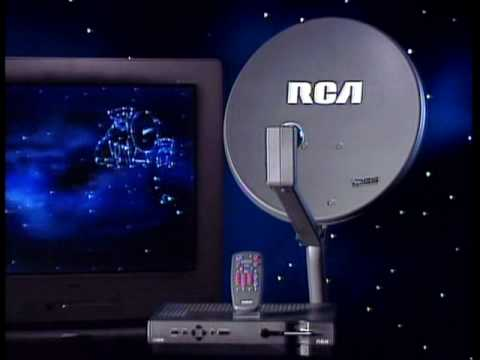 More Crap From 1994 Rca Dss Demo Laserdisc Youtube