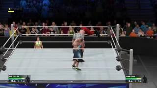 WWE 2K17 Springboard Bug