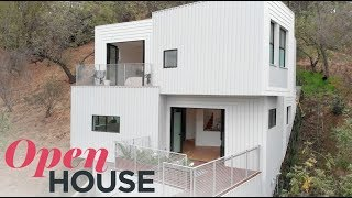 The Stack House Is A Luxury Home Built Into An L.a. Hillside | Open House Tv