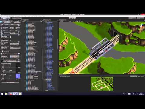 Project Trains: Traffic Control - Level Building Timelapse