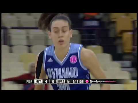 Breanna Stewart Posts 18 points & 11 rebounds vs Olympiacos
